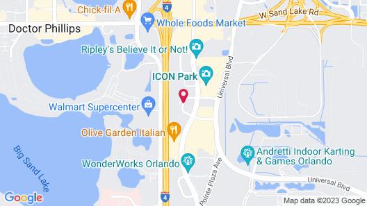 Courtyard by Marriott Orlando International Dr / Conv Cntr Map