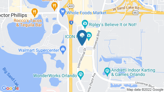 Sonesta ES Suites Orlando - International Drive Map