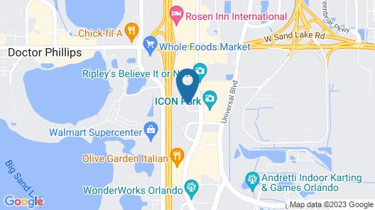 Allure Resort International Dr Map
