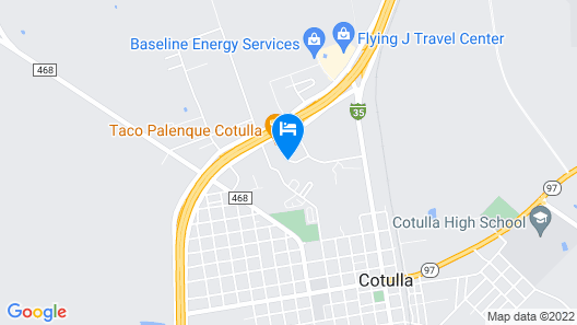 Candlewood Suites Cotulla, an IHG Hotel Map