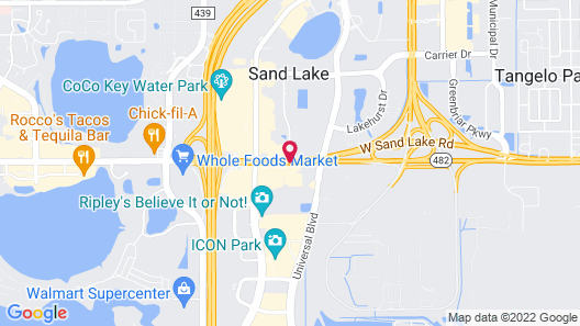 Wyndham Orlando Resort International Drive Map