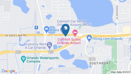 Best Western Airport Inn & Suites Map