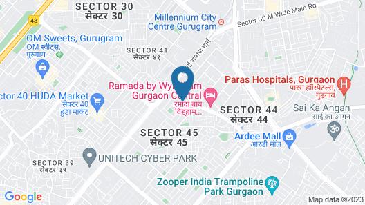 FabHotel Prime Hospitality Map