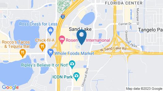 staySky Suites - I Drive Orlando Map