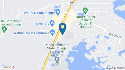 Hampton Inn Spring Hill Map