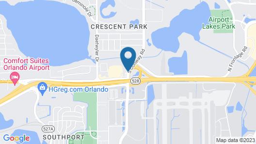 Avid Hotels Orlando International Airport, an IHG Hotel Map