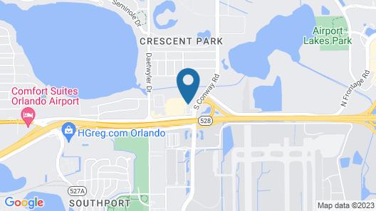 Holiday Inn Express Orlando International Airport, an IHG Hotel Map