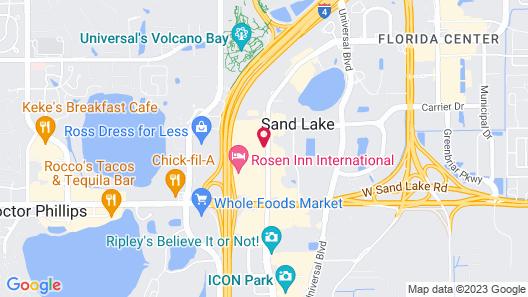 CoCo Key Hotel and Water Resort-Orlando Map