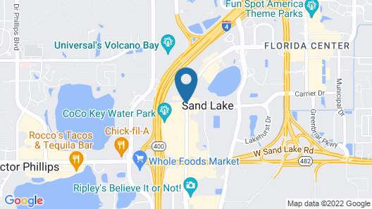 Travelodge by Wyndham Orlando / Heart of International Drive Map