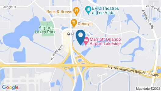 Sheraton Suites Orlando Airport Map
