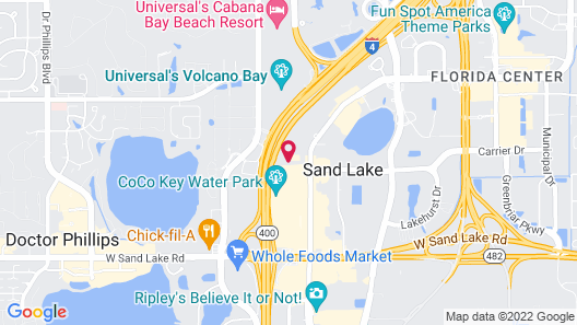 Econo Lodge International Drive Map