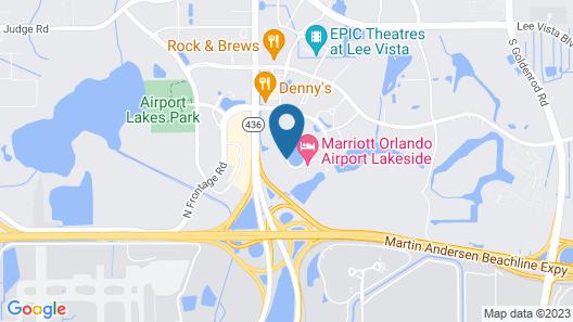 Ramada by Wyndham Suites Orlando Airport Map