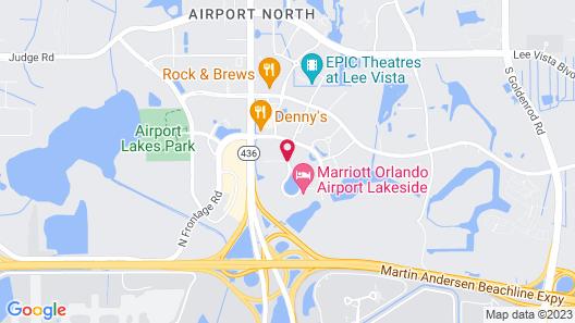 Hilton Garden Inn Orlando Airport Map