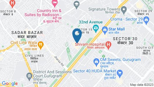 OYO 357 Apple Tree Map