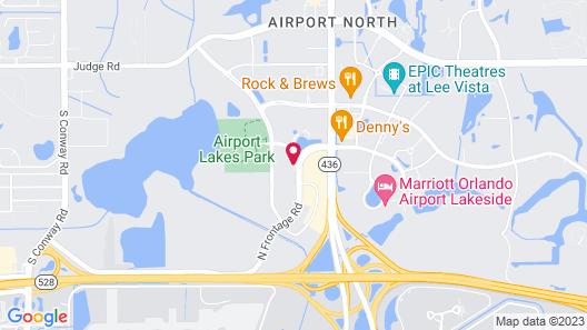 La Quinta Inn & Suites by Wyndham Orlando Airport North Map