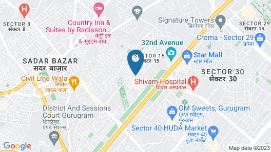 FabHotel Anand Villa Map