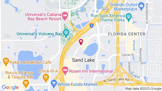 Rosen Inn, closest to Universal Map