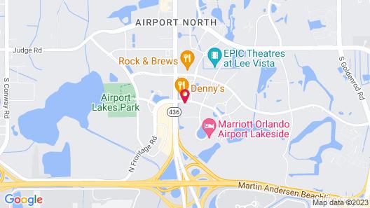 Holiday Inn Orlando International Airport, an IHG Hotel Map