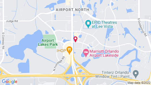 Holiday Inn Orlando International Airport Map