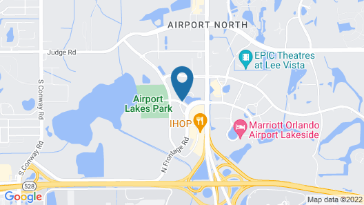Hyatt Place Orlando Airport Map