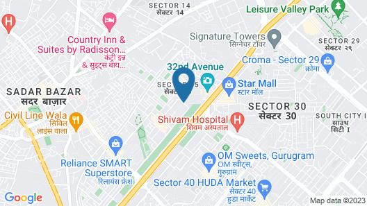 OYO 698 Hotel Maven's House Map