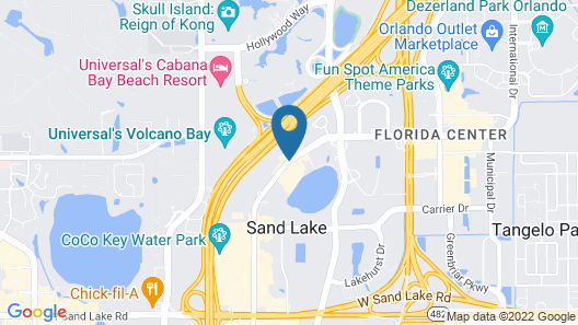 Floridian Express Extended Stay Hotel Map