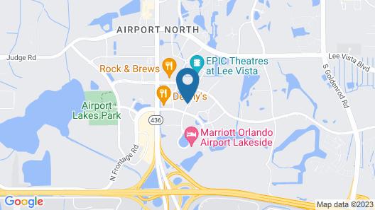 Fairfield Inn By Marriott Orlando Airport Map