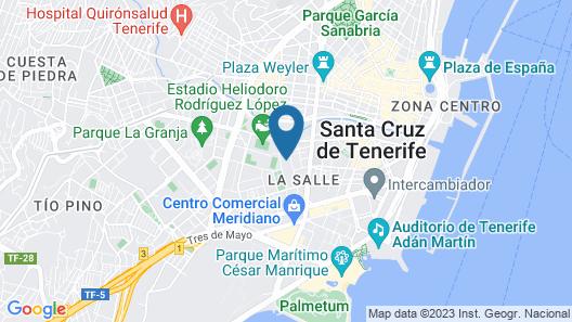 Tenerife Experience Hostel Map