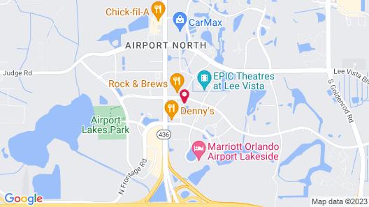 Wingate by Wyndham - Orlando International Airport Map