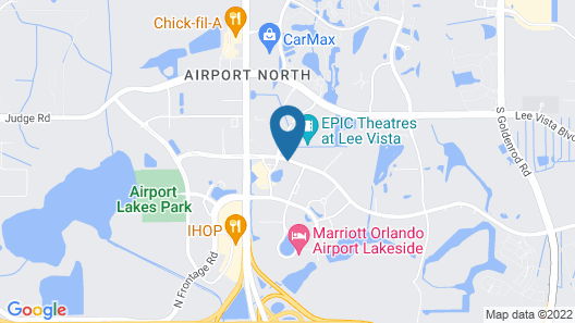 Springhill Suites by Marriott Orlando Airport Map