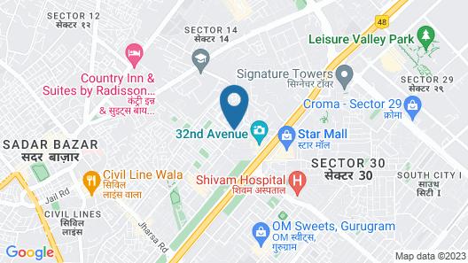 OYO 18557 Palam Residency Map
