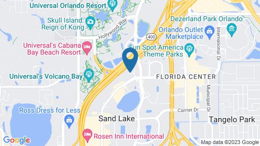 Hotel Monreale Express International Drive Orlando Map