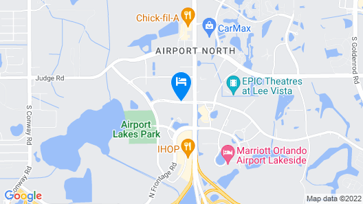 DoubleTree by Hilton Orlando Airport Map