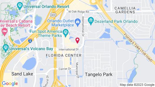 Club Wyndham Orlando International Map