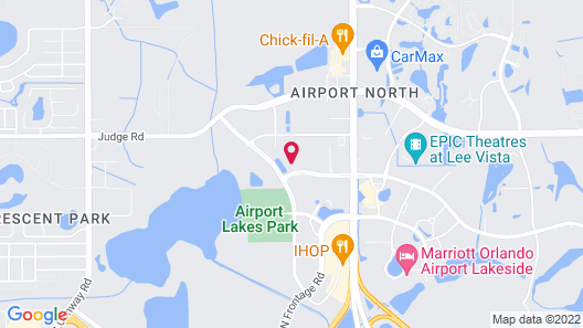Home2 Suites by Hilton Orlando Airport Map