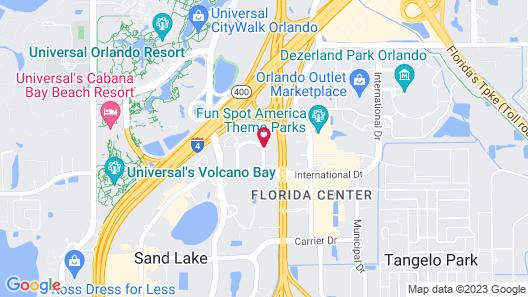 SureStay Plus by Best Western Orlando International Drive Map
