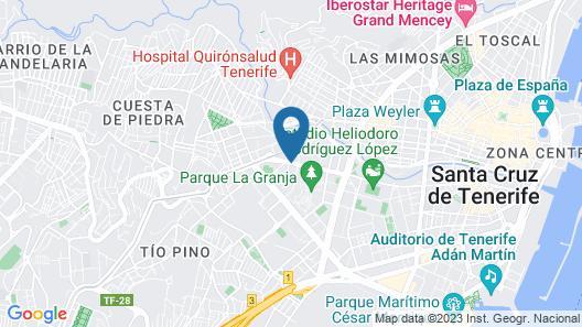 Apartamentos Bruja Map