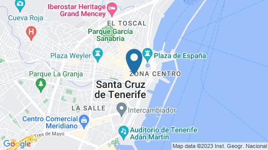Urban Anaga Hotel Map