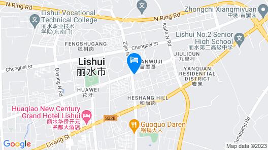 Holiday Inn Express Lishui City Center Map