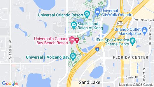 Universal's Aventura Hotel Map