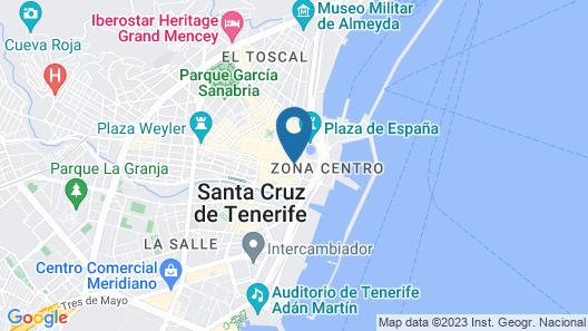 NH Tenerife Map