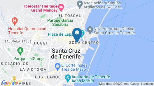 AC Hotel Tenerife Map