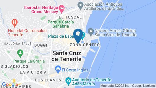 Hotel Adonis Plaza Map