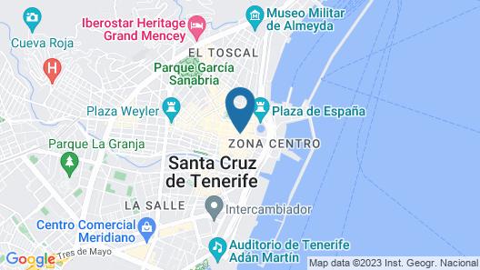 Hotel Adonis Capital Map