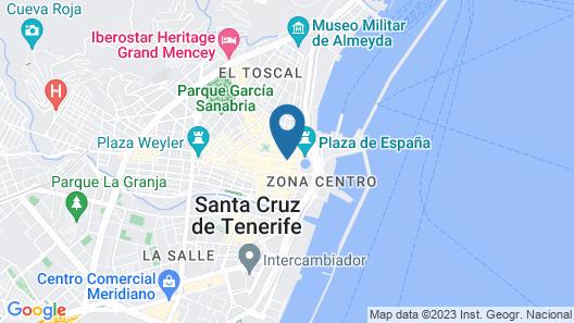 Hotel Adonis Pelinor Map