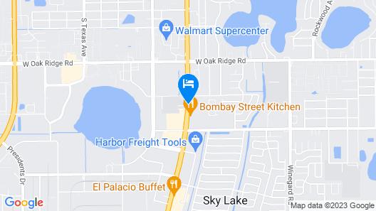 Hotel Bel-Air Orlando Map