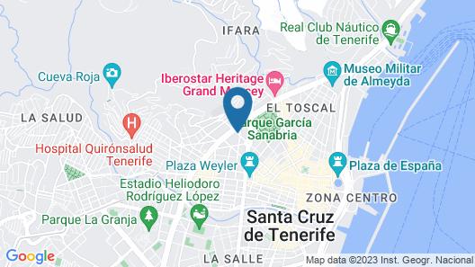 Hotel Colón Rambla Map
