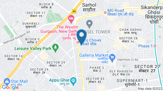 Treebo Trend IFFCO Chowk Map
