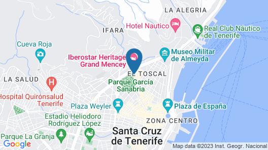 Hotel Taburiente Map