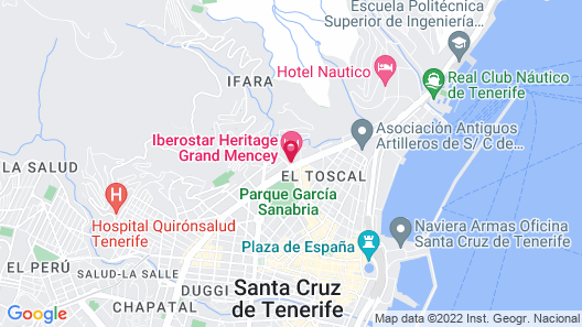 Iberostar Heritage Grand Mencey Map